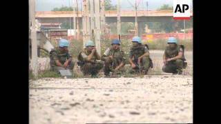Bosnia - United Nations Troops Under Fire