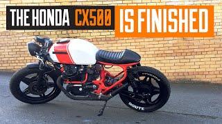 honda cx500 cafe racer build time lapse - TH-Clip