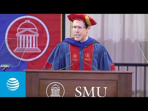 Randall Stephenson: Keynote at May 2018 SMU Commencement | AT&T -youtubevideotext