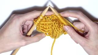 How to knit the butterfly knit II | WE ARE KNITTERS