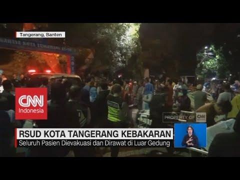 RSUD Kota Tangerang Kobakaran, Seluruh Pasien Dievakuasi