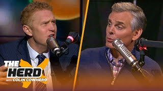 Brian Scalabrine challenges Colin's criticism of Kyrie, talks Celtics & Westbrook | NBA | THE HERD