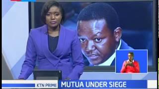 Alfred Mutua under siege after senate committee snub