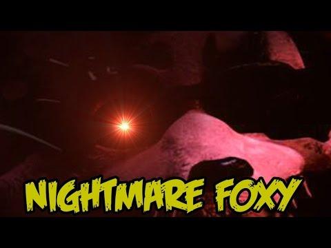 Teoria De La Aparicion De Nightmare Foxy  | Teoria | FNAF 4