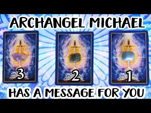 Your Message From Archangel Michael - Pick A Card Reading ☀️💜✨