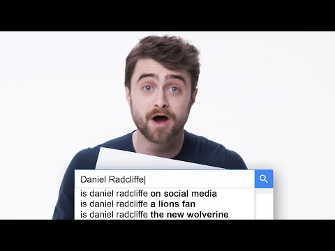 Daniel Radcliffe odpovídá na nejčastěji vyhledávané dotazy