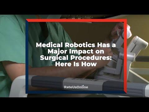 Medical Robotics Used in Surgical Procedures