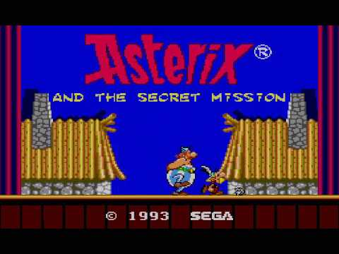 Let's Play - Asterix and the Secret Mission - Blind Run - 01 - Skull Breaker