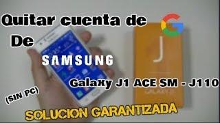 QuitarcuentadegoogledeJ1AceSm-J1102018SinPcSoluciónEfectiva