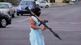 Fake Terrorist Grenade Launcher Stunt thumbnail