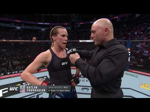 UFC 262: Katlyn Chookagian Octagon Interview