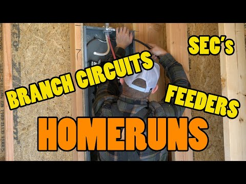 Homeruns, Feeders, Service Entrance Conductors, & Branch Circuits