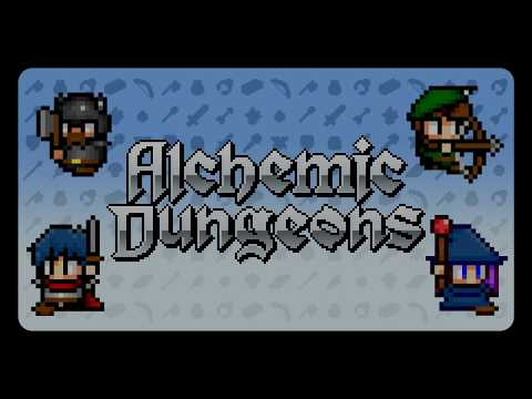 3DS eShop Game Alchemic Dungeons Game Intro thumbnail