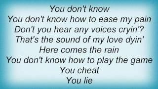 10cc - Cry Lyrics