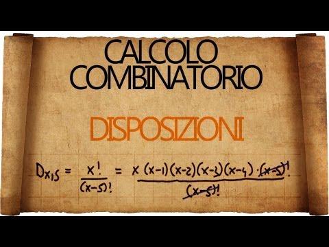 Calcolo Combinatorio: Disposizioni