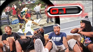 He Pulls Up With 0.1 On The Clock For The GAME! (NBA Ballers)