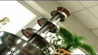 Фонтан для шоколада и напитков Clatronic SKB 3248 на 3 яруса Германия от компании PolyMarket - видео