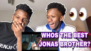 JONAS BROTHERS - SUCKER (VIDEO) REACTION!!