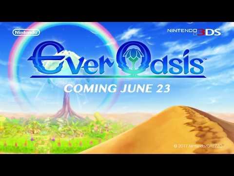 Видео № 0 из игры Ever Oasis (Б/У) [3DS]