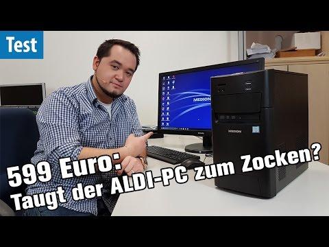 ALDI-PC für 599€ im TEST: Ist der Medion P5360E GAMING-tauglich?
