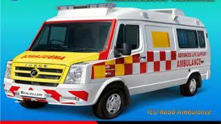 Get Medilift ICU Road Ambulance Service in Phulwari Sharif and Gola Road