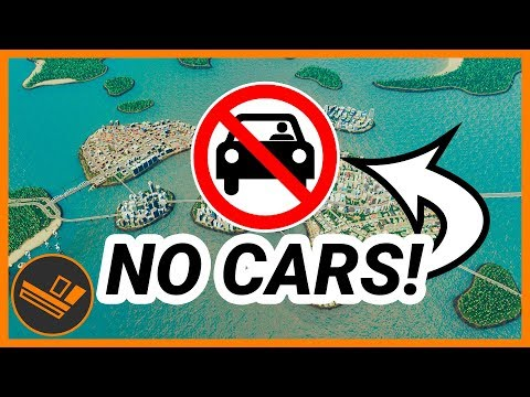 A City with NO CARS, everyone walks! Cities: Skylines CHALLENGE