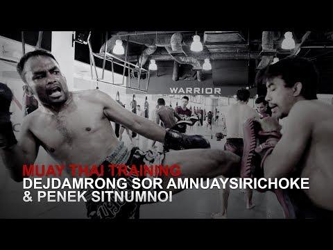 Muay Thai World Champion Dejdamrong Sor Amnuaysirichoke Puts In Work!
