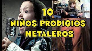 NIÑOS METALEROS- TOCANDO INSTRUMENTOS Y CANTANDO-Bel kira