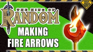 Breath of the Wild Fire Arrows MADE REAL!