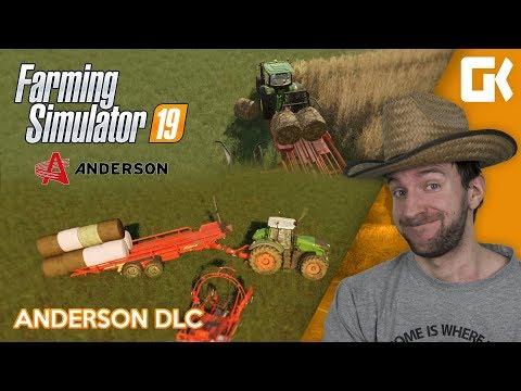TESTUJEME ANDERSON DLC! | Farming Simulator 19
