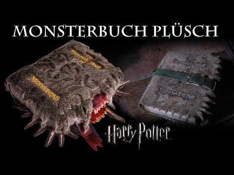 Harry Potter: Monsterbuch der Monster als Plüschkissen