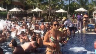 Foam Party In Hotel Breathless Resort&Spa Punta Cana.