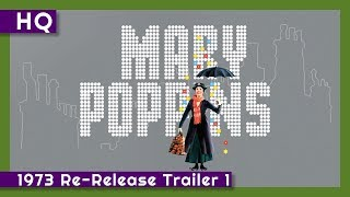 Mary Poppins (1964) 1973 Re-Release Trailer 1