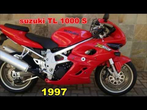 Suzuki TL 1000 S, 1997 a 2001 ficha técnica e top speed.