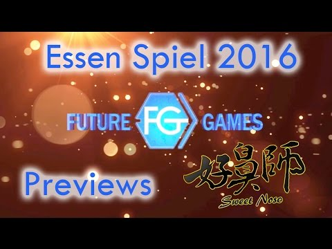 Sweet Nose preview - Essen Spiel 2016