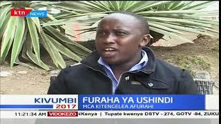 MCA Kitengela, Paul Watuiya afurahia ushindi wake