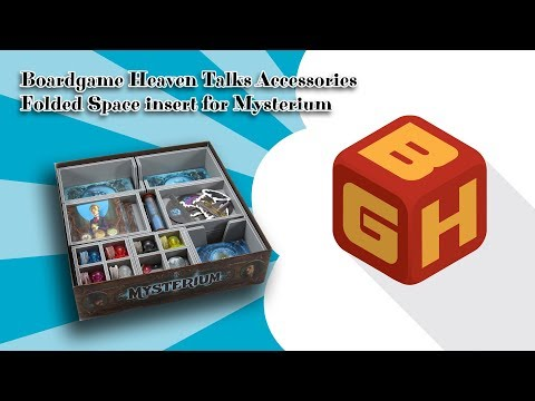 Boardgame Heaven Talks Accessories: Folded Space insert for Mysterium