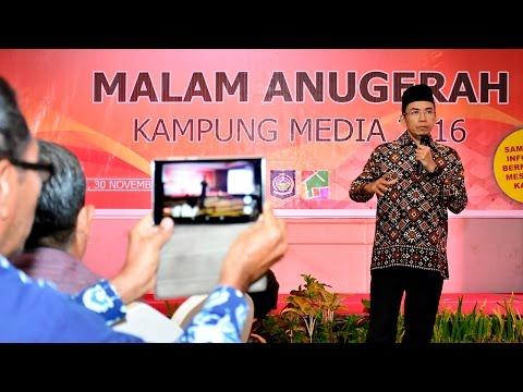 Malam Anugerah Kampung Media 2016