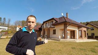 Videoprohlídka luxusního rodinného domu v obci Vysoká nad Labem, okres Hradec Králové