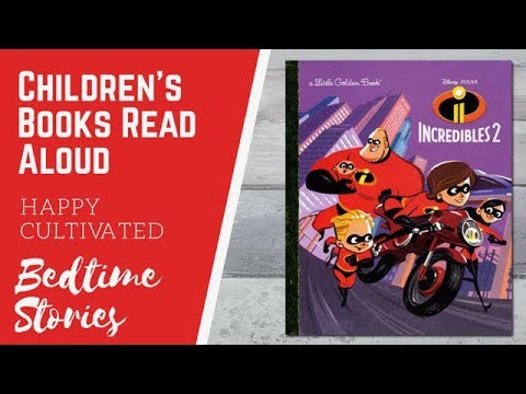 INCREDIBLES 2 Story Book Read Along | Disney Books For Kids| Superhero Books | Kids Books Read Aloud