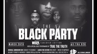 The Black Party | Wisco Kidz (Keifer Sykes on stage)