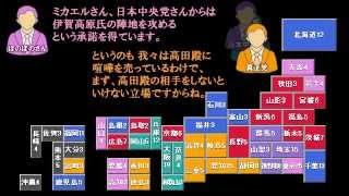 【2倍速版】CGIゲーム「日本大統領選挙」過去ログ動画