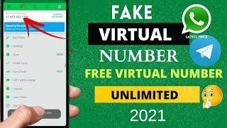 FREE VIRTUAL PHONE NUMBER 2021 |Free Number for Whatsapp Telegram & More