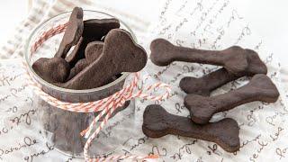 Carob Cookies For Dogs, Dog Treats Recipe | 강아지 쿠키 만들기, 캐롭쿠키