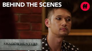 Shadowhunters | Behind the Scenes Season 2: Tour of Magnus' Lair | Freeform