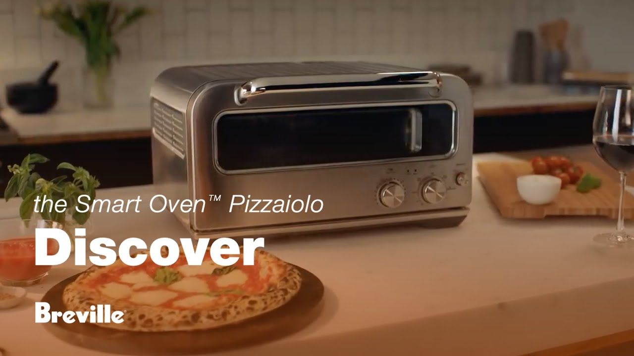 The Smart Oven™ Pizzaiolo - Brick oven performance on your Benchtop