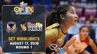 Air Force vs. Banko Perlas | Set 1 Highlights - August 17, 2019 | #PVL2019