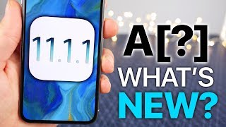 A[?]OS 11.1.1 Released! What's New Review