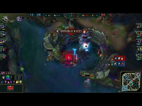 LPL vs NA LCS – Sneaky Saves Baron | League Of Legends All-Stars 2017