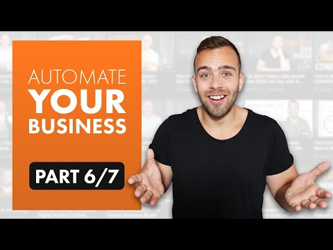 How to Build an Online Business from Scratch in Only 30 days   Automate Your Business (6/7)
